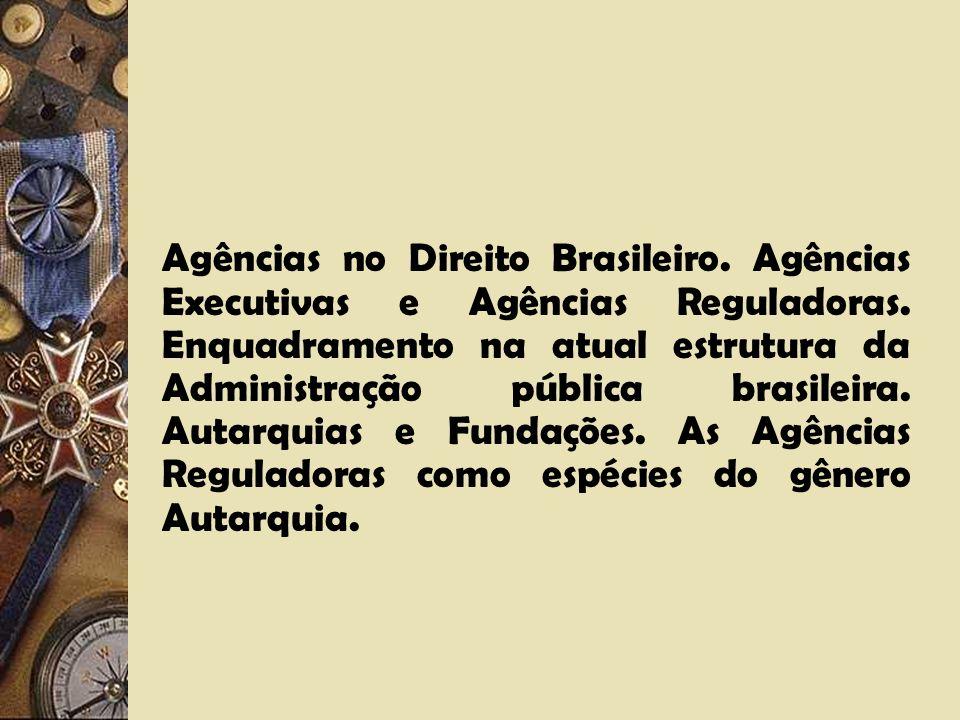 Agências no Direito Brasileiro