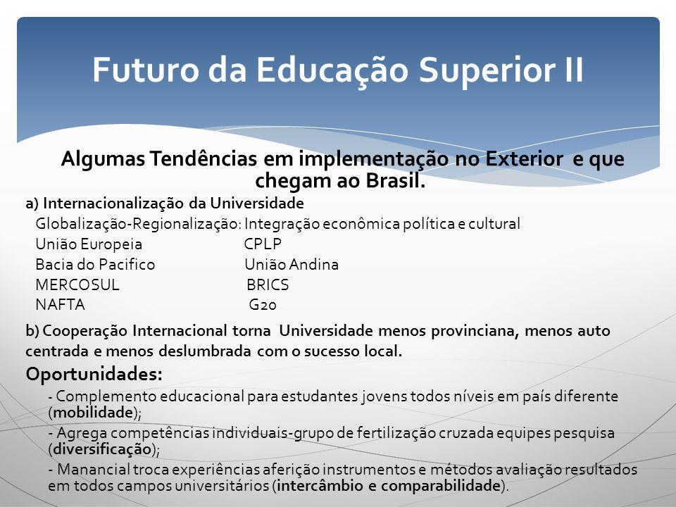 Futuro da Educação Superior II