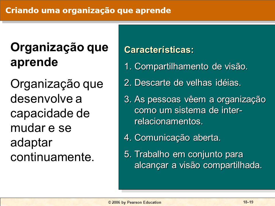 Problemas fundamentais da organização tradicional: