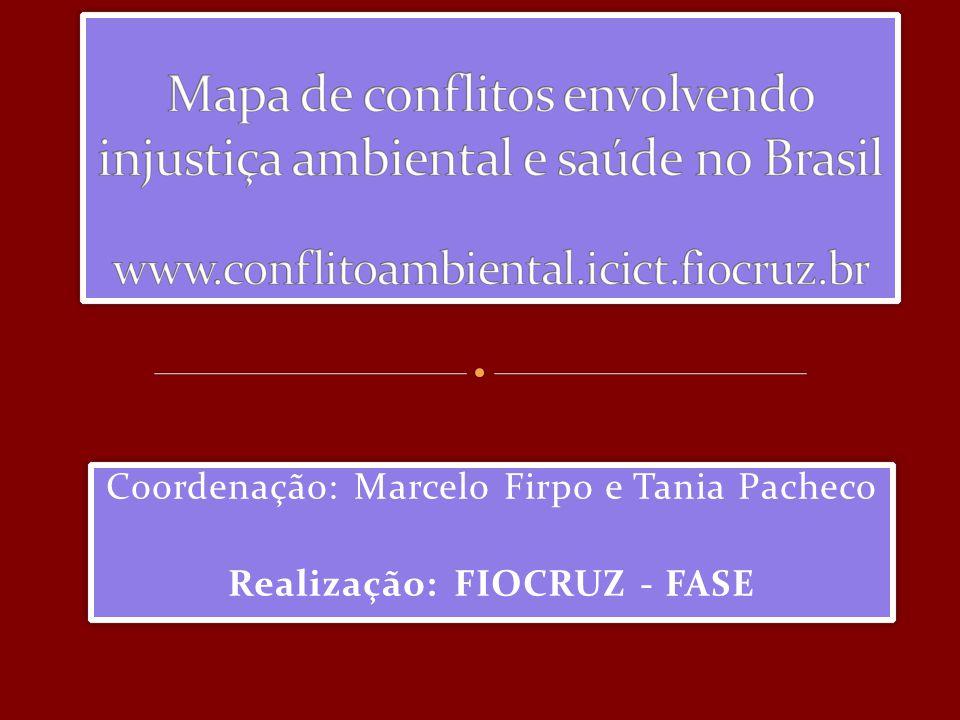 Coordenação: Marcelo Firpo e Tania Pacheco Realização: FIOCRUZ - FASE