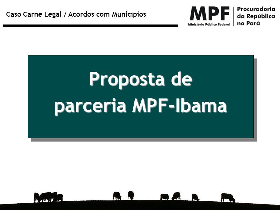Proposta de parceria MPF-Ibama