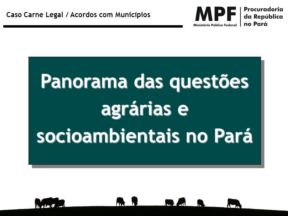 socioambientais no Pará
