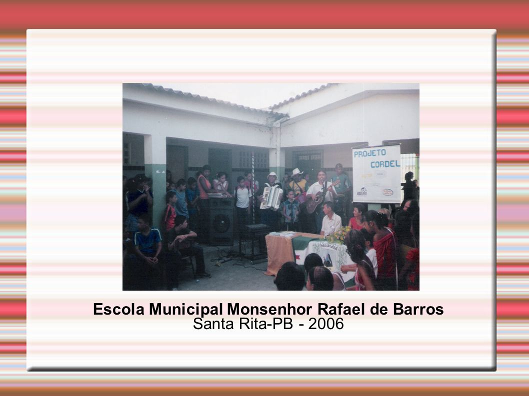 Escola Municipal Monsenhor Rafael de Barros