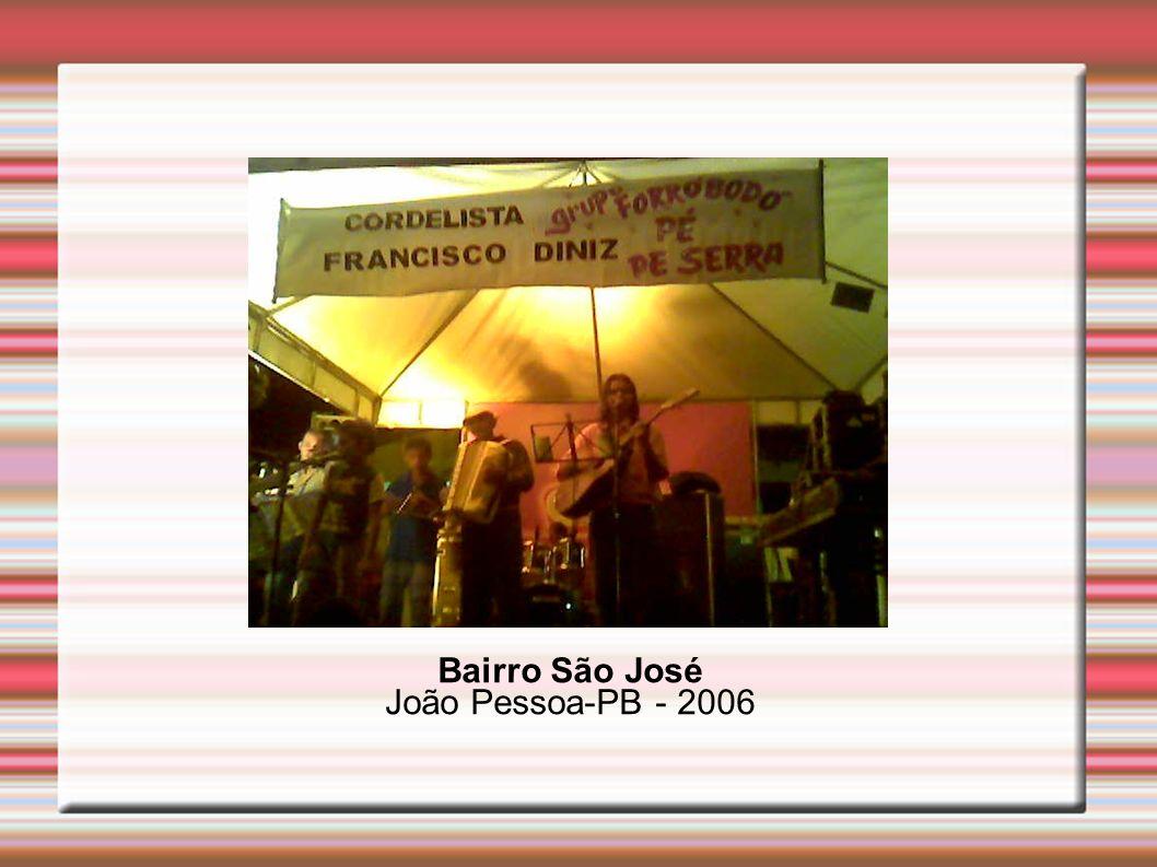 Bairro São José João Pessoa-PB - 2006