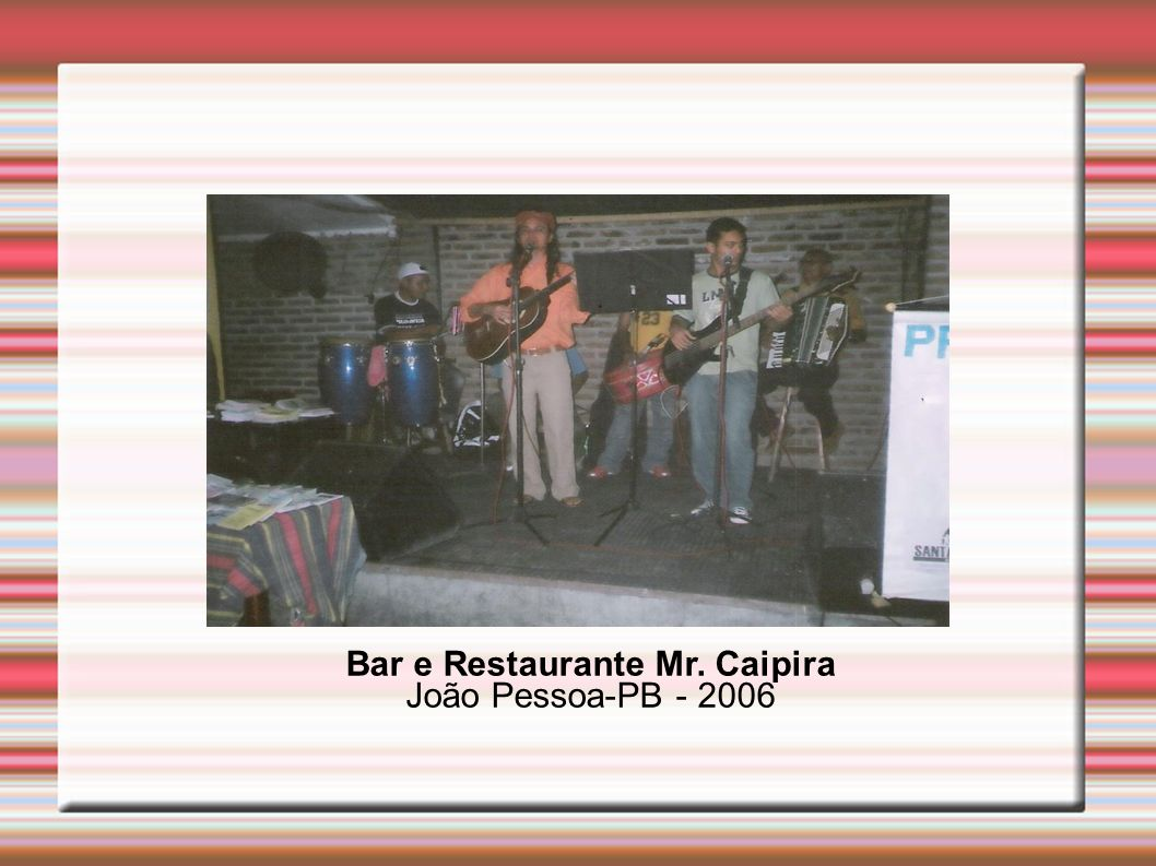 Bar e Restaurante Mr. Caipira