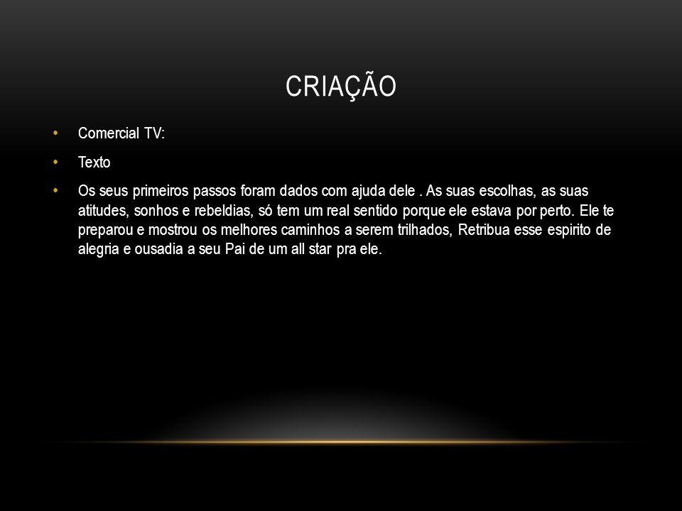 Criação Comercial TV: Texto