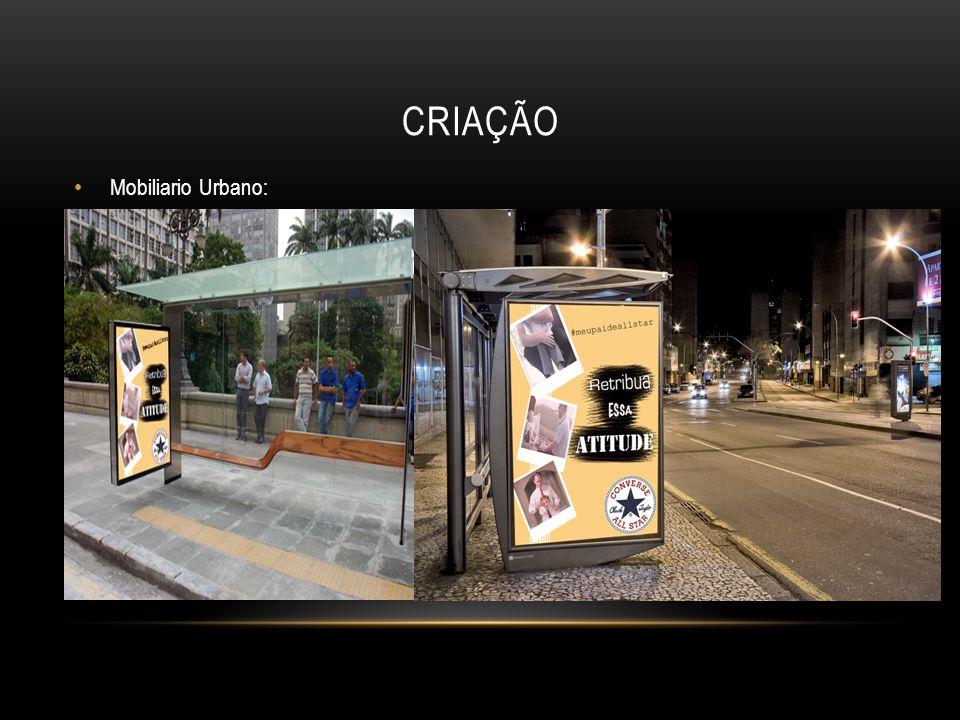 criação Mobiliario Urbano: