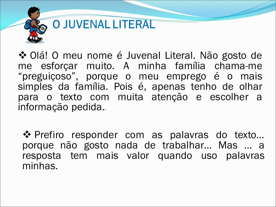 O JUVENAL LITERAL
