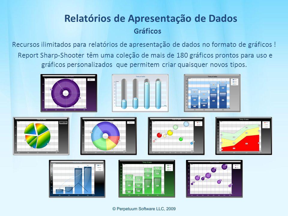 Relatórios de Apresentação de Dados