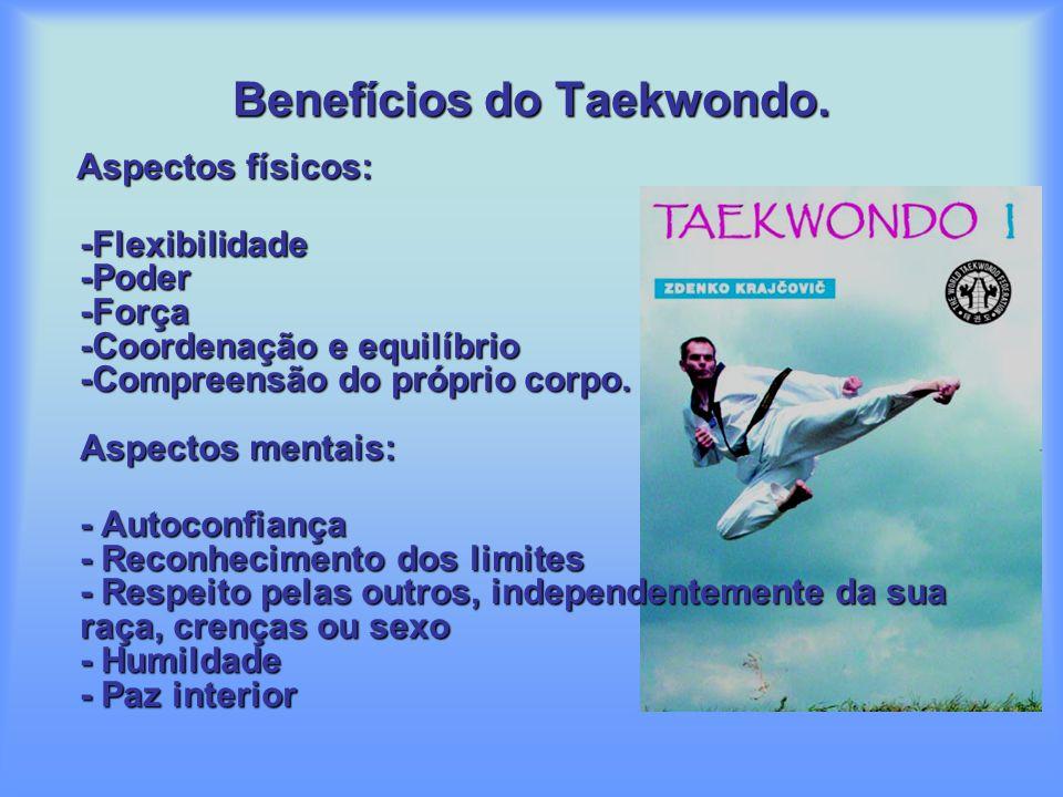 Benefícios do Taekwondo.