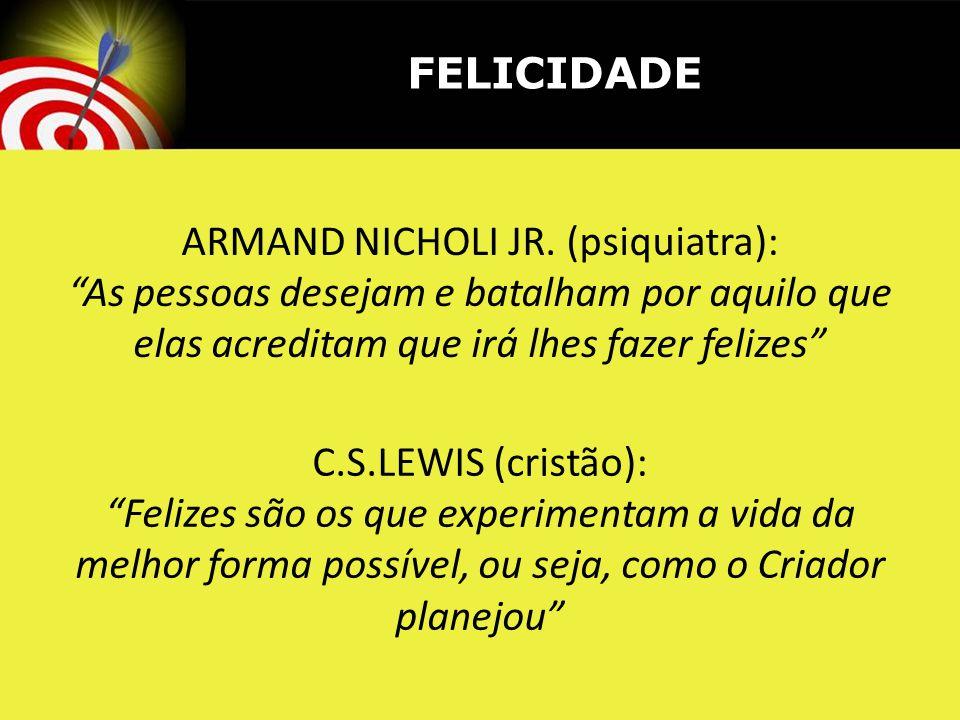 ARMAND NICHOLI JR. (psiquiatra):