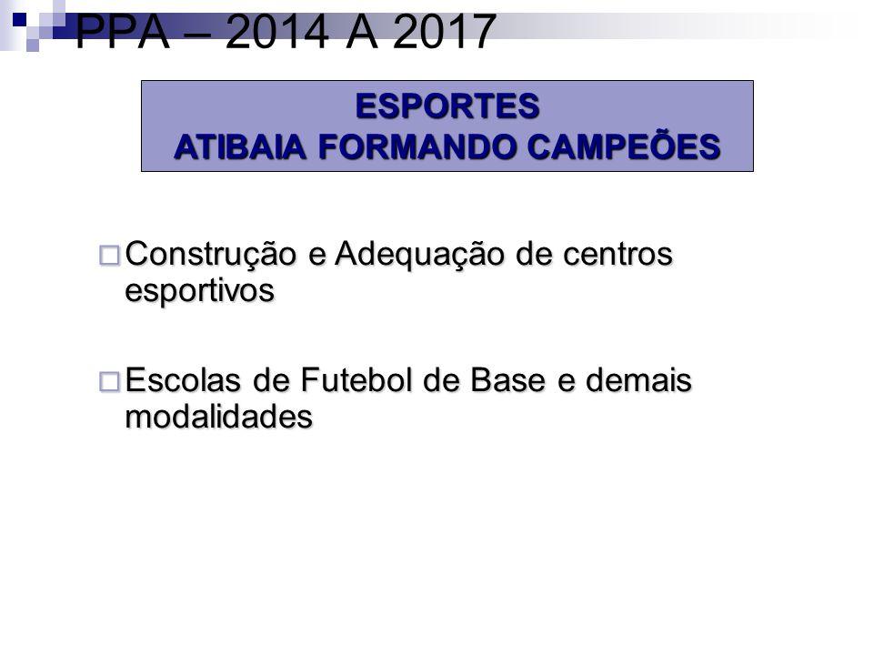 ATIBAIA FORMANDO CAMPEÕES