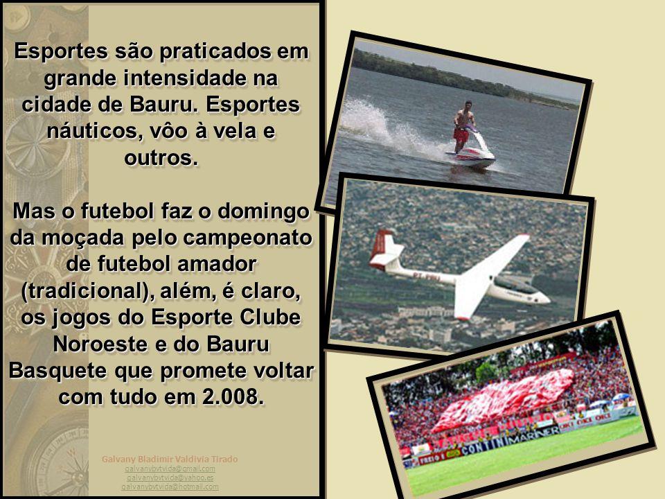 Esportes são praticados em grande intensidade na cidade de Bauru