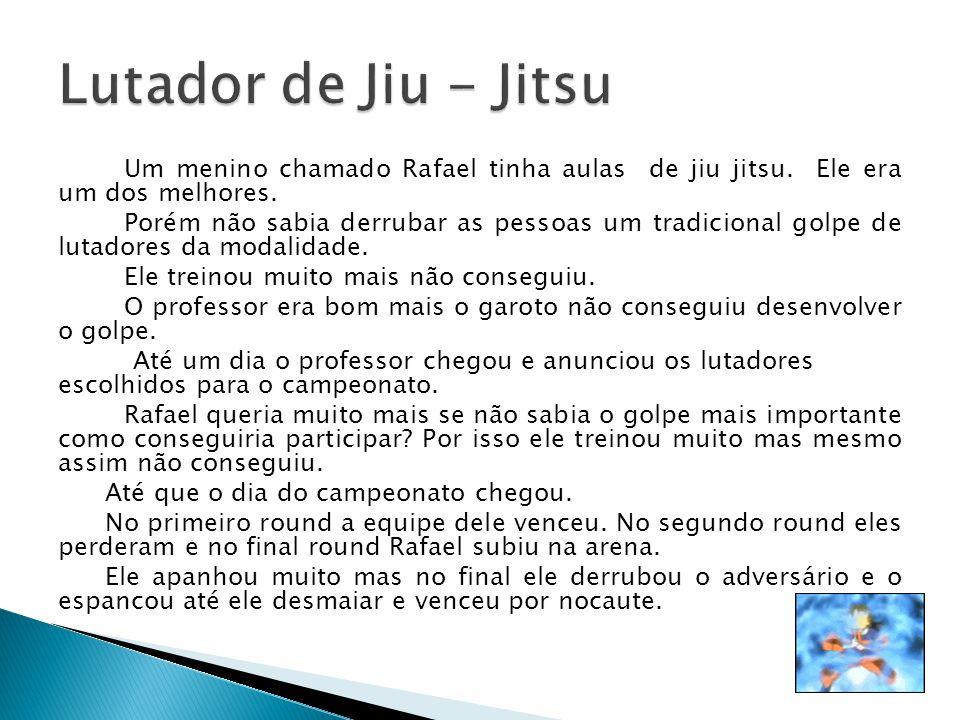 Lutador de Jiu - Jitsu