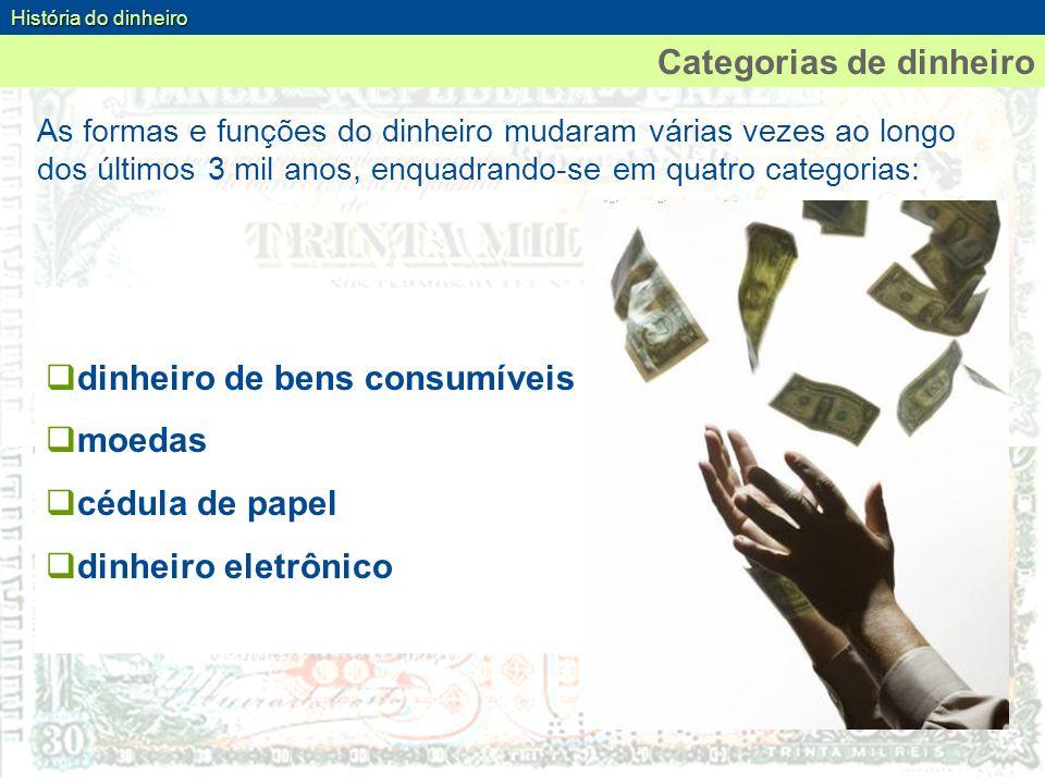 Categorias de dinheiro