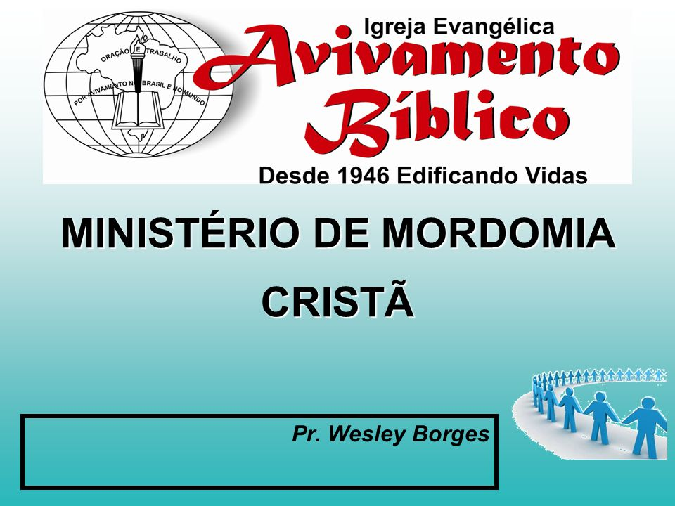 MINISTÉRIO DE MORDOMIA CRISTÃ