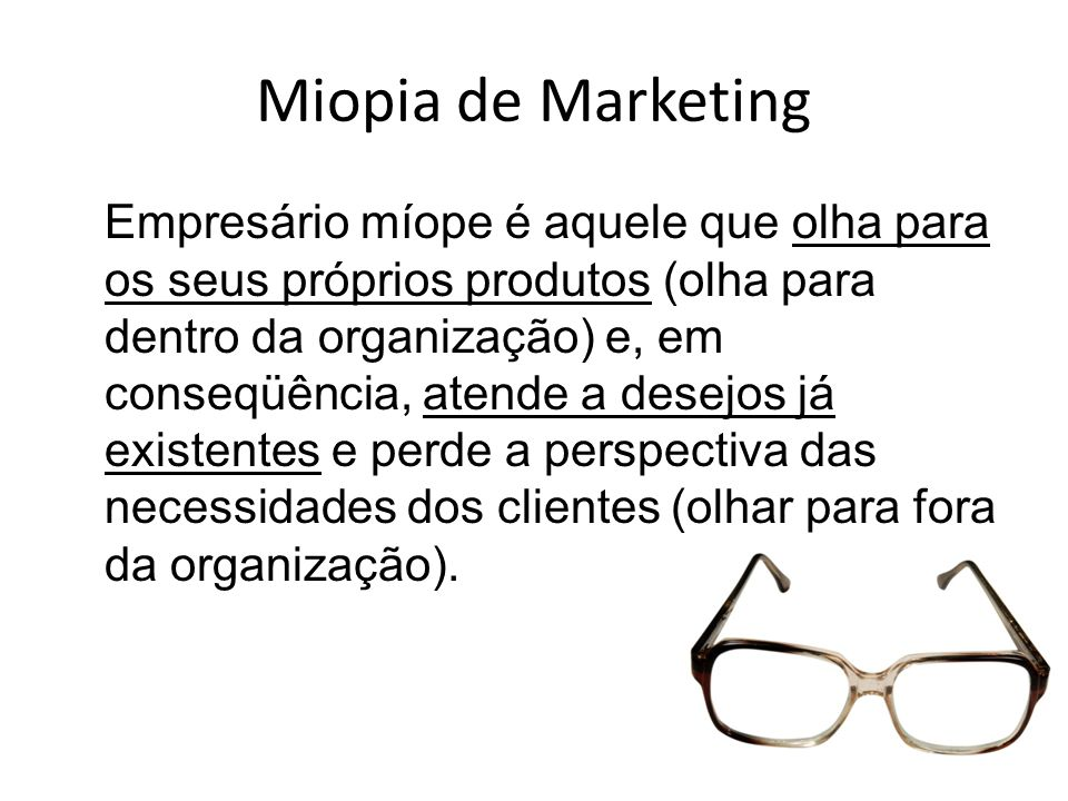 Miopia de Marketing