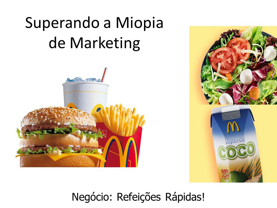 Superando a Miopia de Marketing