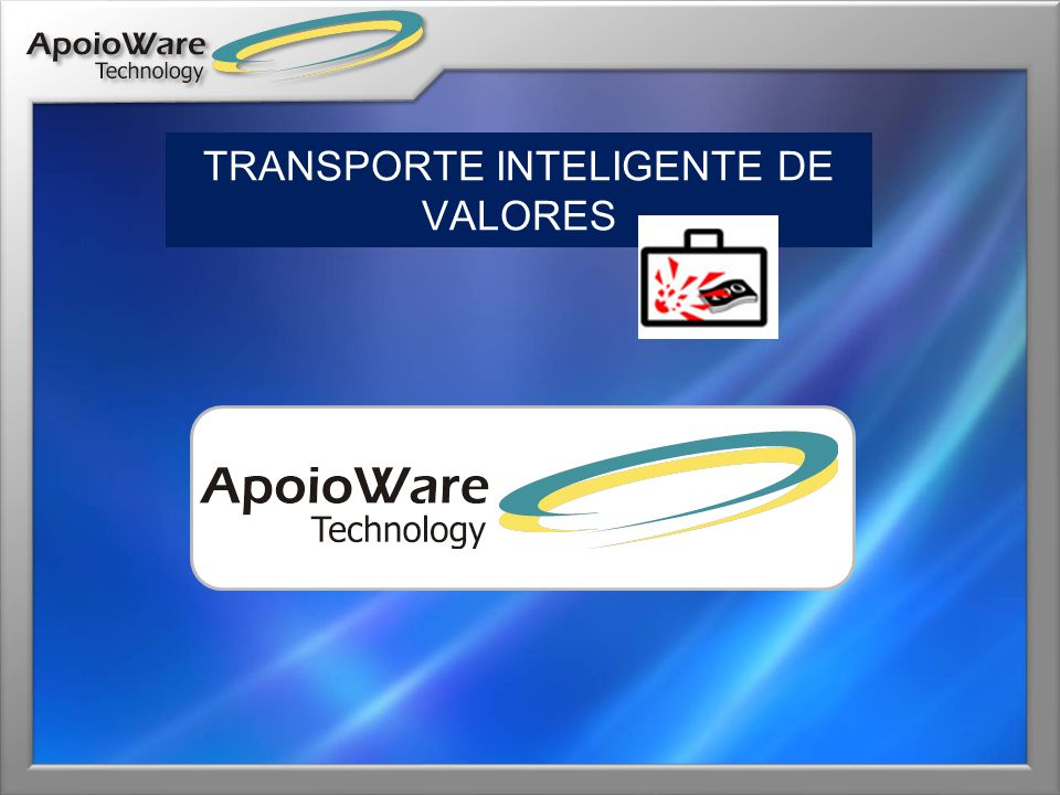 TRANSPORTE INTELIGENTE DE VALORES