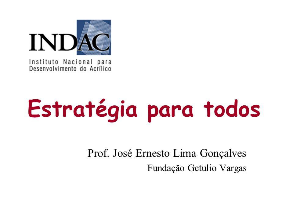 Prof. José Ernesto Lima Gonçalves Fundação Getulio Vargas
