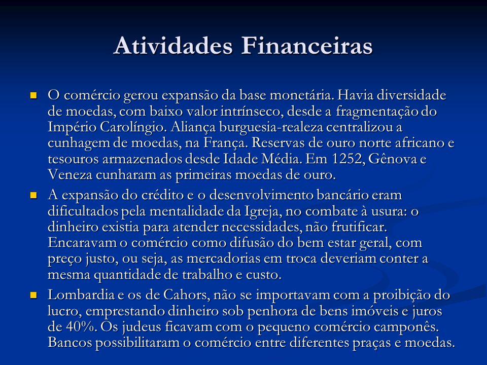 Atividades Financeiras