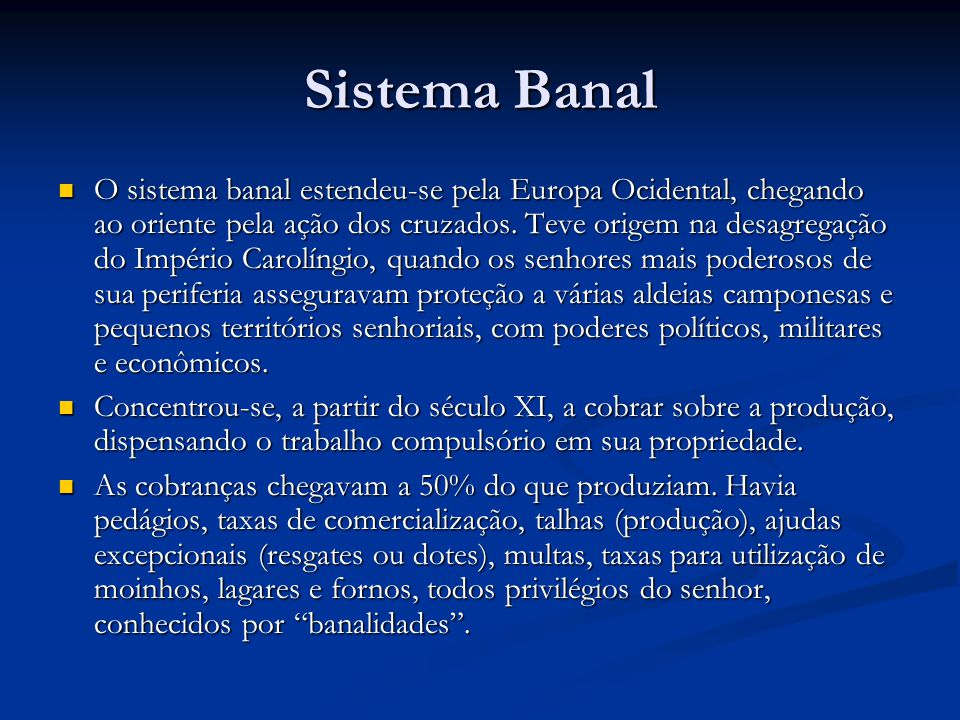 Sistema Banal