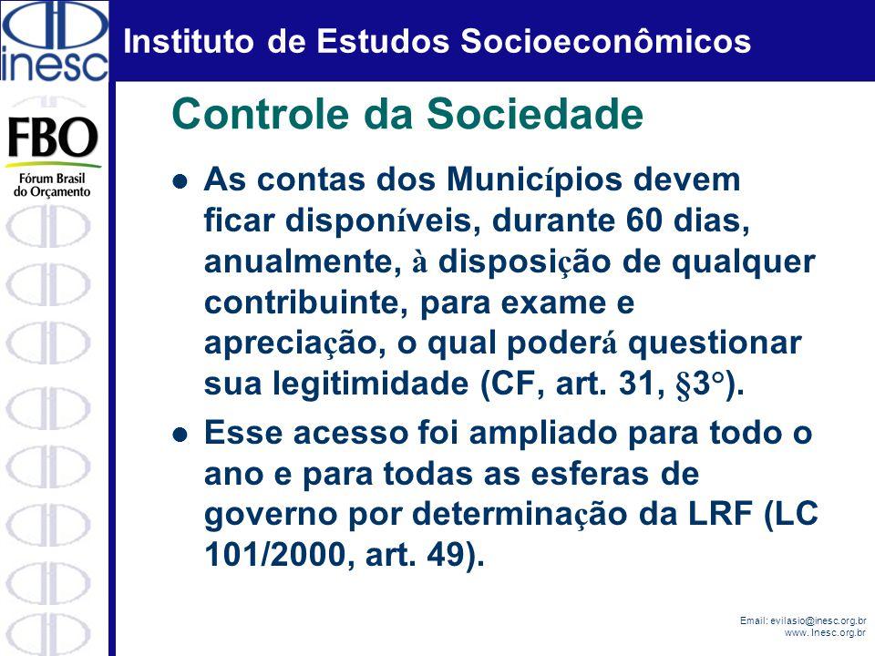 Controle da Sociedade