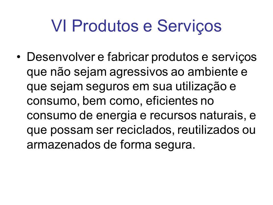 VI Produtos e Serviços
