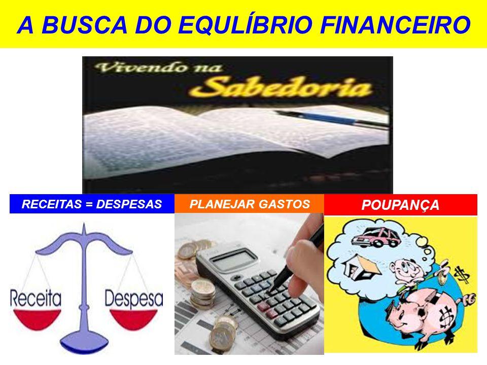A BUSCA DO EQULÍBRIO FINANCEIRO