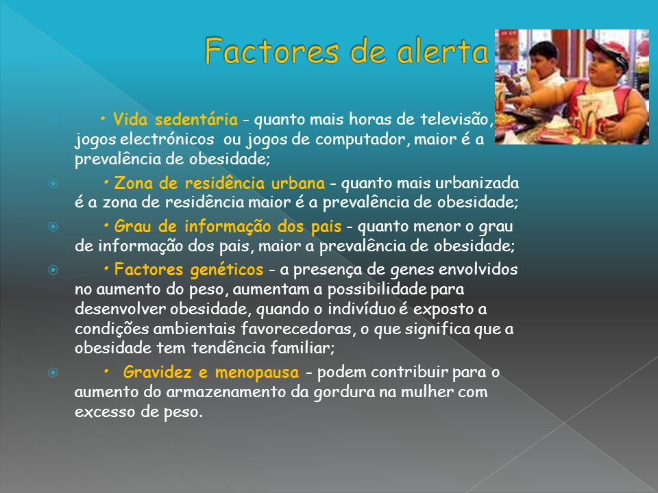 Factores de alerta