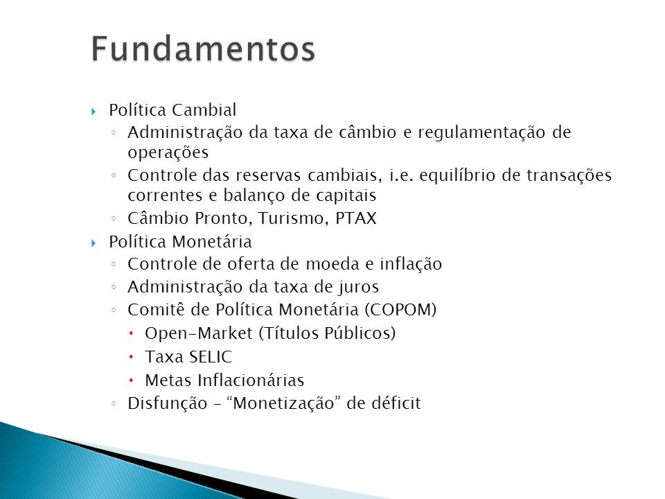 Fundamentos Política Cambial