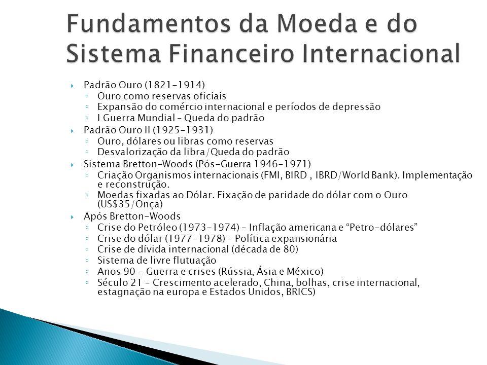 Fundamentos da Moeda e do Sistema Financeiro Internacional