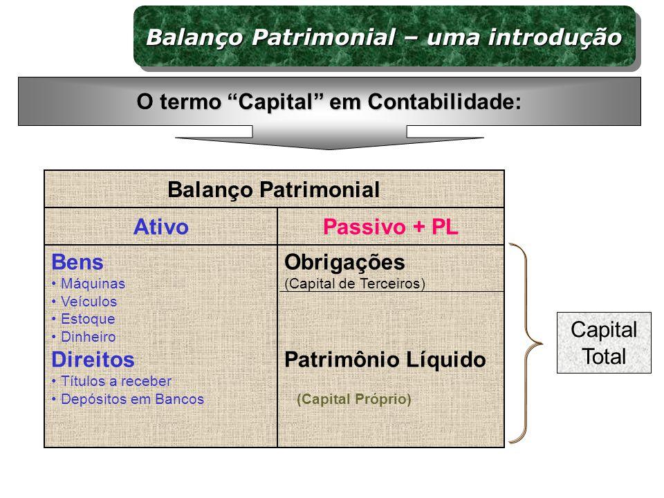 Balanço Patrimonial – uma introdução