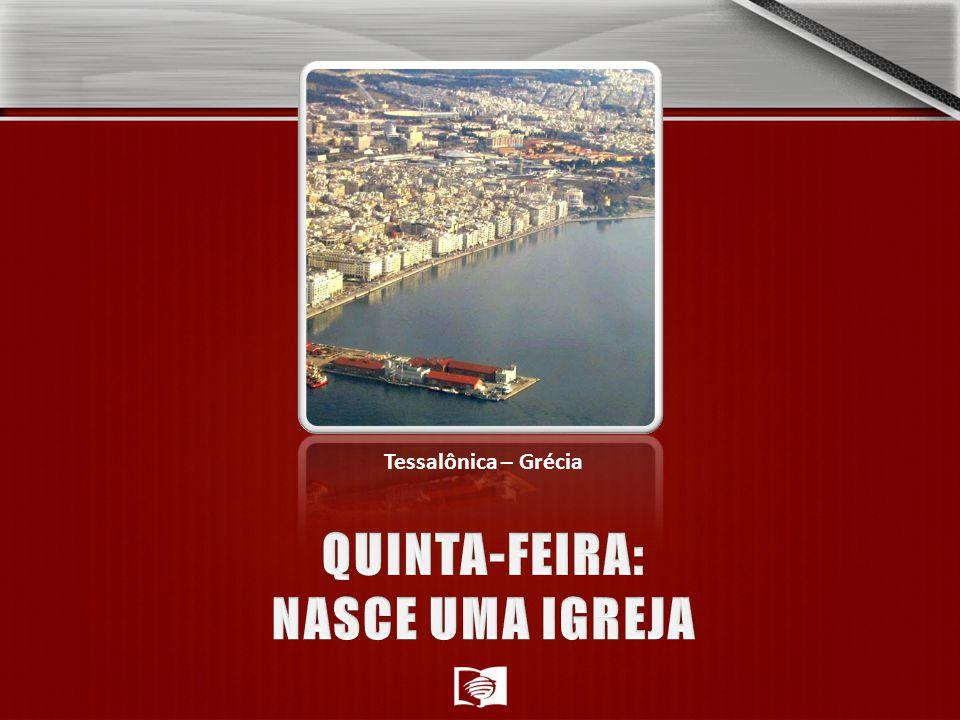 QUINTA-FEIRA: NASCE UMA IGREJA