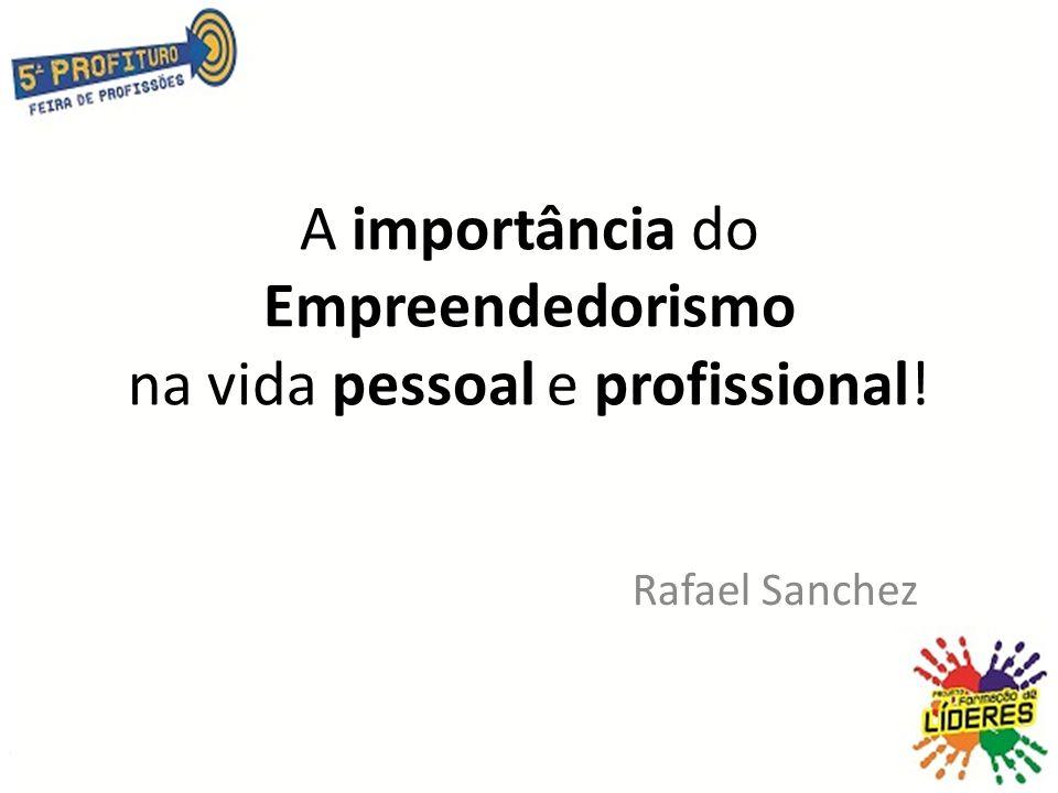 A importância do Empreendedorismo na vida pessoal e profissional!