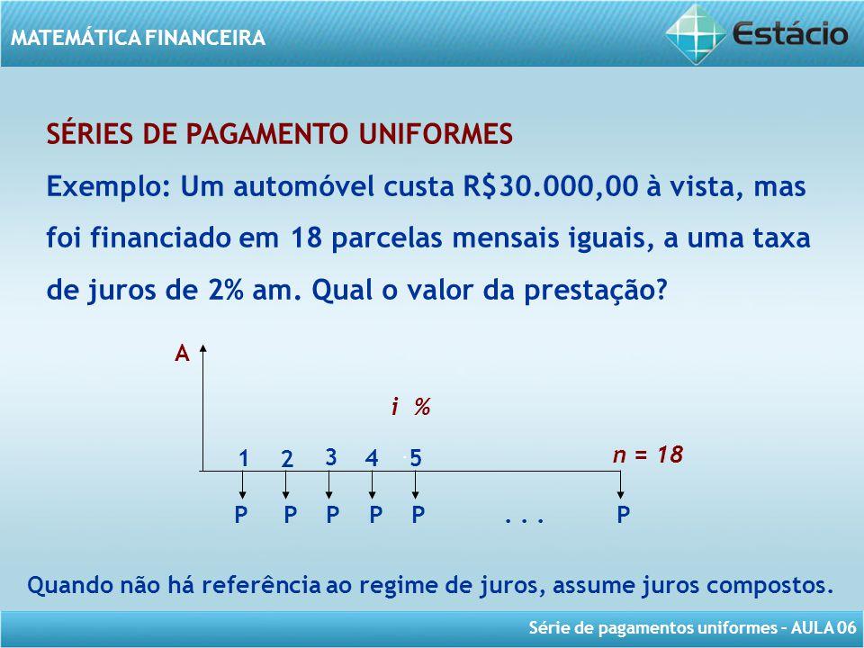 Quando não há referência ao regime de juros, assume juros compostos.