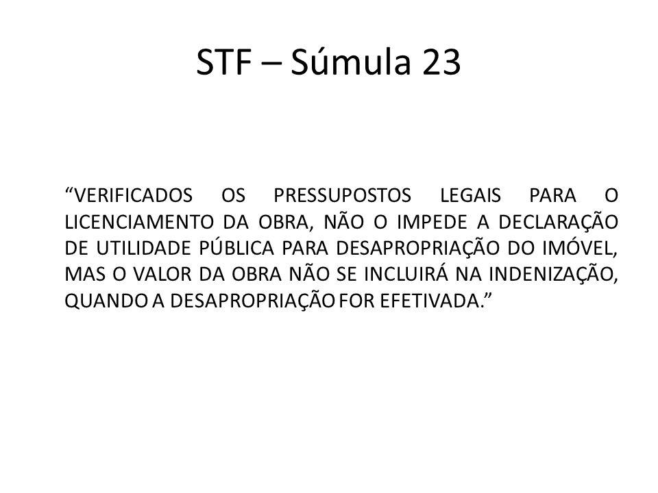 STF – Súmula 23
