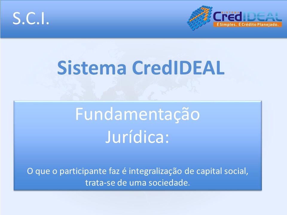 Sistema CredIDEAL S.C.I. Fundamentação Jurídica: