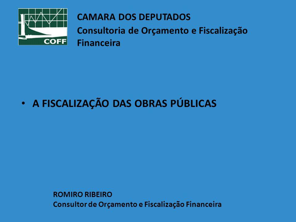 CAMARA DOS DEPUTADOS. Consultoria de Orçamento e Fiscalização