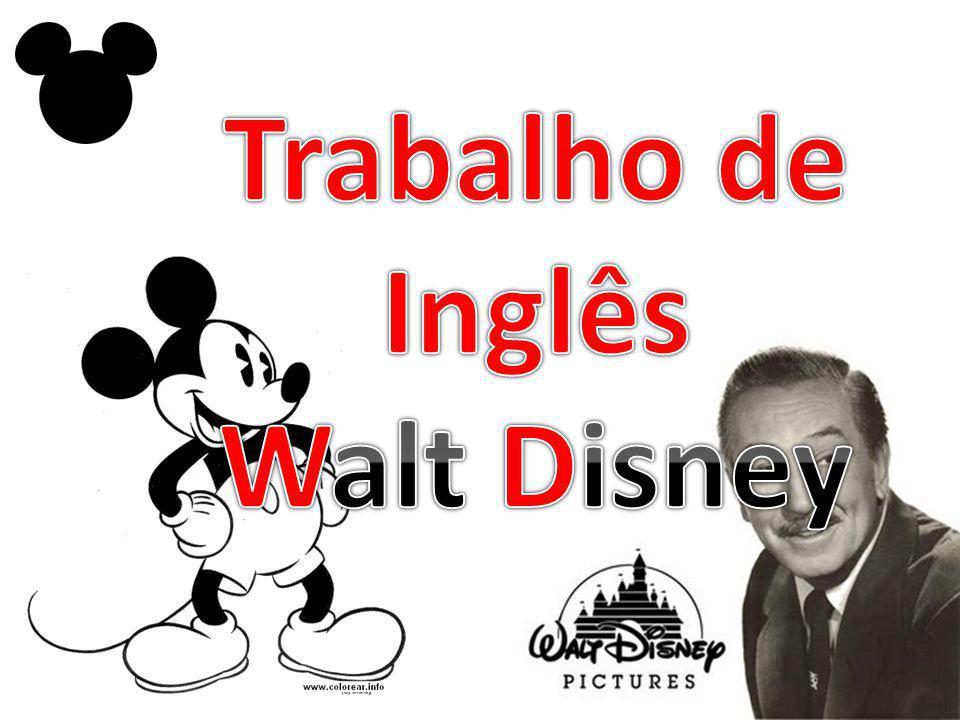 Trabalho de Inglês Walt Disney