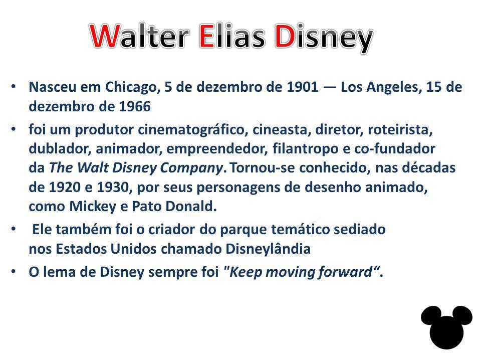 Nasceu em Chicago, 5 de dezembro de 1901 — Los Angeles, 15 de dezembro de 1966