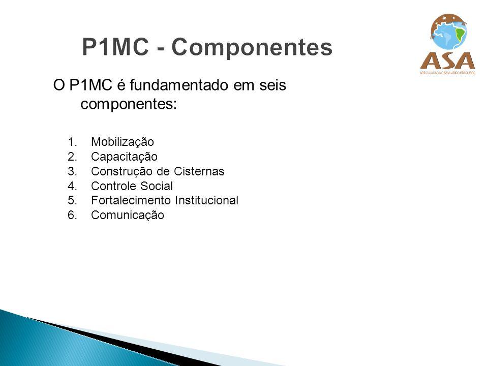 P1MC - Componentes O P1MC é fundamentado em seis componentes: