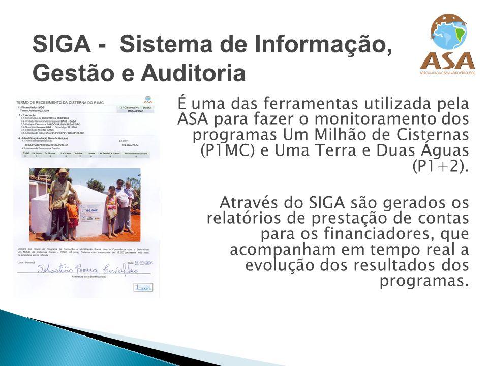 SIGA - Sistema de Informação, Gestão e Auditoria