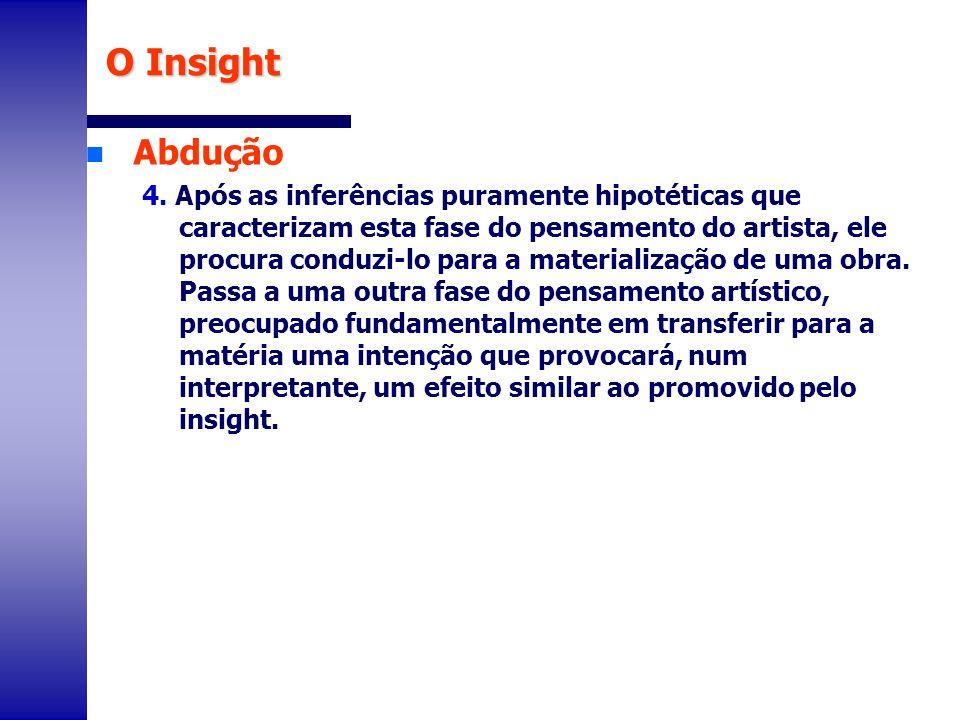 O InsightAbdução.