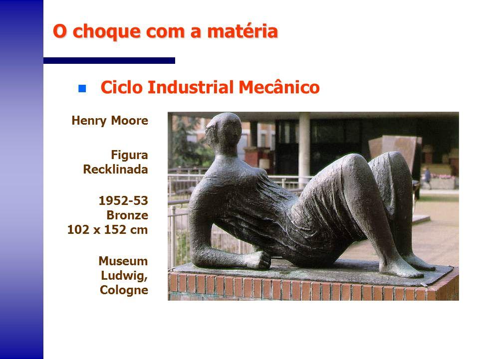 O choque com a matéria Ciclo Industrial Mecânico Henry Moore