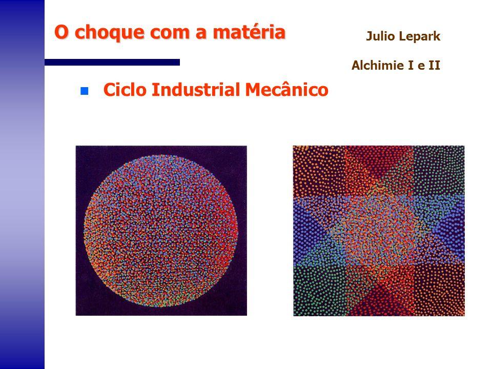 O choque com a matéria Ciclo Industrial Mecânico Julio Lepark