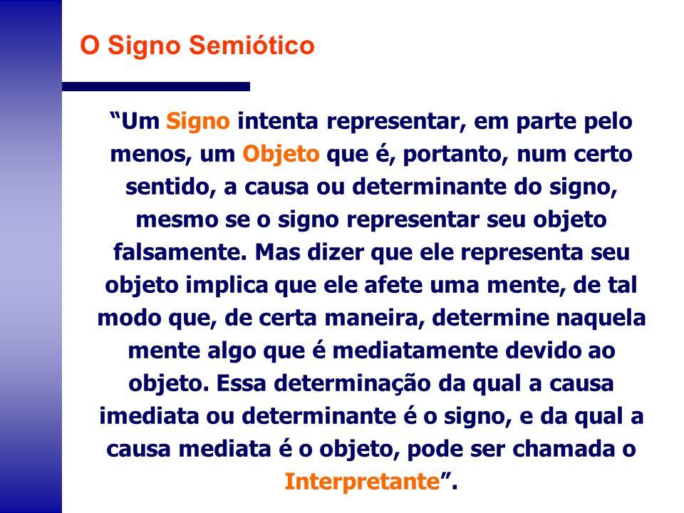 O Signo Semiótico