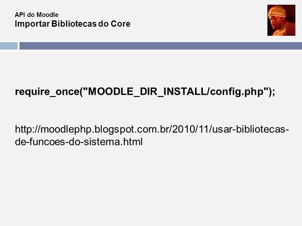 require_once( MOODLE_DIR_INSTALL/config.php );