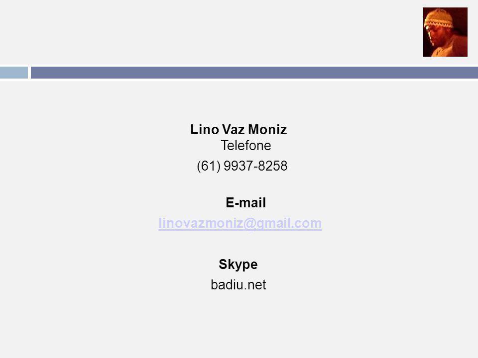 Lino Vaz Moniz Telefone