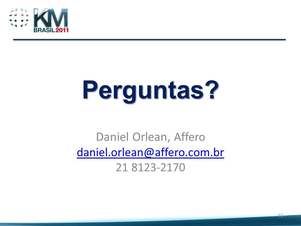 Daniel Orlean, Affero daniel.orlean@affero.com.br 21 8123-2170